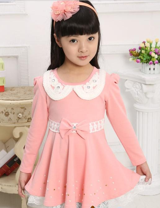 The Youngster New Girls Korean Dress Princess Dress ...