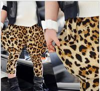 Wholesale Cotton Collapse - Children pants baby trouser girl yellow leopard grain big PP collapse harem pants kids harem pants