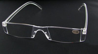 20pcs lot Unbreakable clear white reading glasses plastic re...