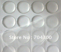 Wholesale Epoxy Dots Inch - 1 inch circle clear epoxy sticker for DIY jewelry 3D DOME CIRCLE STICKERS Self Adhesive Resin Dots stickers