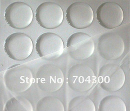 Wholesale Clear Jewelry Stickers - 1 inch circle clear epoxy sticker for DIY jewelry 3D DOME CIRCLE STICKERS Self Adhesive Resin Dots stickers