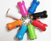 Mini Car charger usb charge Car cigarette lighter Car charge...