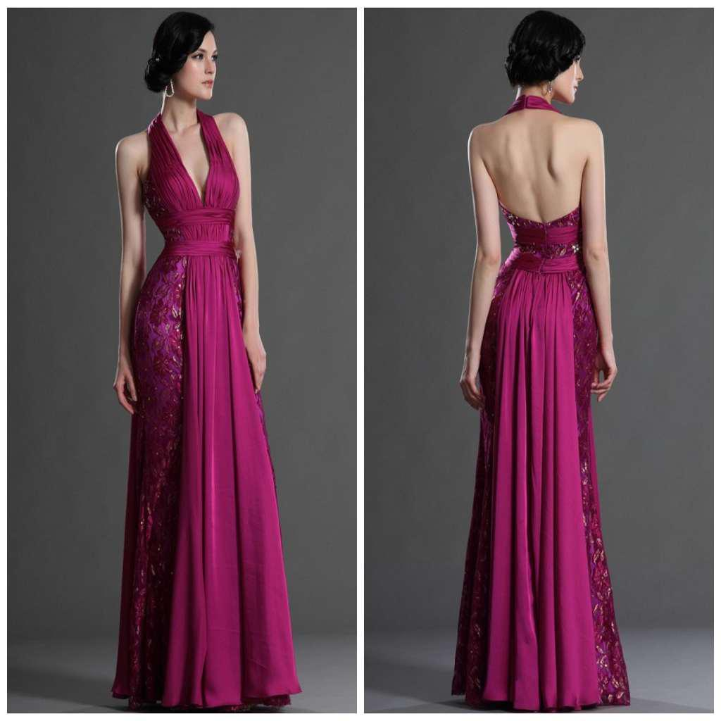 Plum plus size halter v neck sheath chiffon backless long bling plum plus size halter v neck sheath chiffon backless long bling lace evening dresses sexy prom gown maternity evening dresses occasion dresses uk from ombrellifo Choice Image