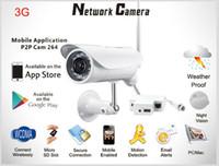 ir kamera entfernung großhandel-Long-Range-3G-Sim-Karte im Freien in der IR-IP-Kamera 3G Video-IP-Kamera S732