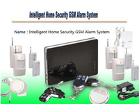 Wholesale Intelligent Video Systems - Free Shipping 2013 New Wireless Intelligent Smart Home Security GSM Alarm System