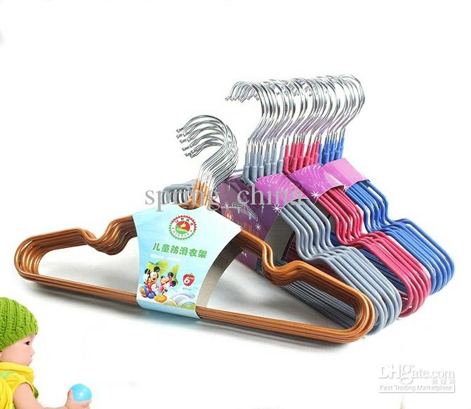 2018 Clothes Hangers Children Favor Stainless Steel Dip Coating Drying Rack  Clothes Hanger From Spring_china, $35.04 | Dhgate.Com