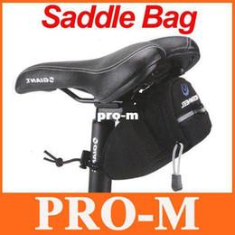 Wholesale Cycling Bicycle Bike Saddle Outdoor - Cycling Bicycle Bike Saddle Bag Outdoor Pouch Back Seat Bag H8041 Freeshipping Dropshipping