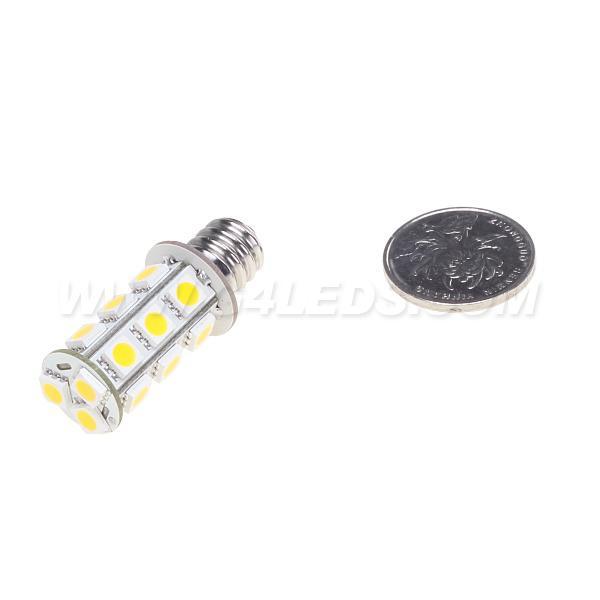 E12 LED Auto lampadina G4 GU10 24V Warm Bianche Di 5050SMD 3W Home Auto marina del crogiolo Spot Indoor