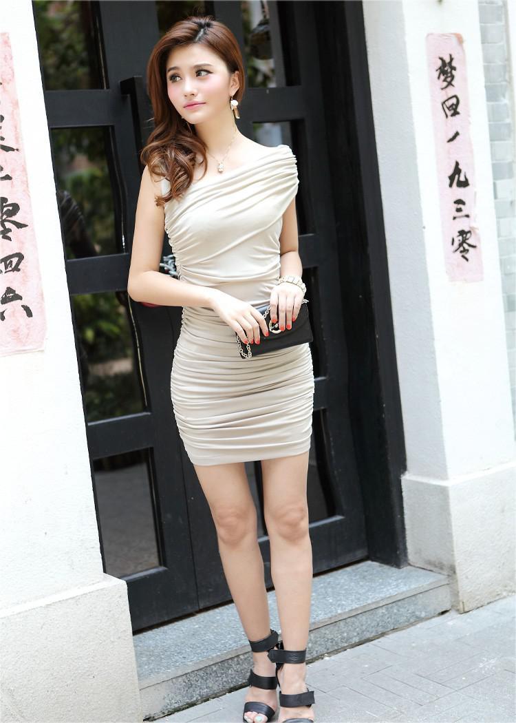 2016 verão bodycon dress hot moda sexy mulheres dress mangas plicated mini vestido curto clube das mulheres desgaste roupas