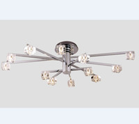 New Modern Fashion K9 Crystal Ceiling Lamp Chandelier Living...