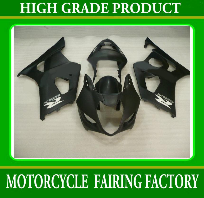 Kit de carenados Hot flat flat black para SUZUKI GSXR 1000 03 04 GSX-R1000 2003 2004 K3 carenado RX3w