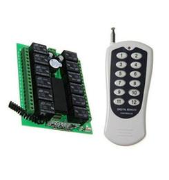 315 МГц 12-канальный радиочастотный пульт дистанционного управления Переключатель системы передатчик и приемник от Поставщики дистанционная система