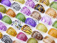 Wholesale Chunky Lucite Rings - Lowest Price! Brand New Jewelry lots 300X Cartoon Mix Colors Kids Children Resin Chunky Rings [LR19*300]
