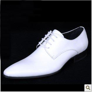 797184757a09 British Fashionable White Leather Shoes Men Pointed Leather Strap Wedding  Business Suit Men s Shoes Strappy Heels Geox Shoes From Sincere