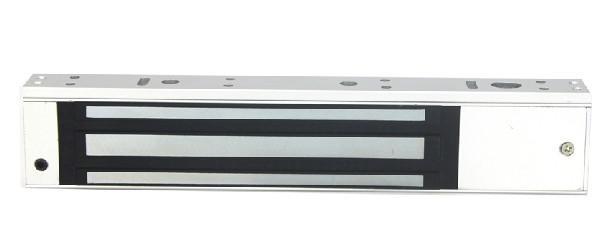Fechadura magnética elétrica 280 kg 600 lbs eletroímã força de retenção para porta de madeira de metal de vidro