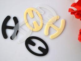 Wholesale Bras 36 - Free Shipping Convertible plastic BRA Strap clip clipper backless 32 34 36 38 40 42 A B C D DD