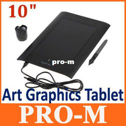 Wholesale Art Graphics Drawing - Art Graphics Drawing Tablet Cordless Digital Pen for PC Laptop Computer 4000LPI 200 RPS 2048 Levels