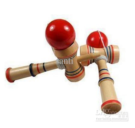 HOT Funny Bahama Traditional Wood Game Skill Kendama Ball Children Educational Toy