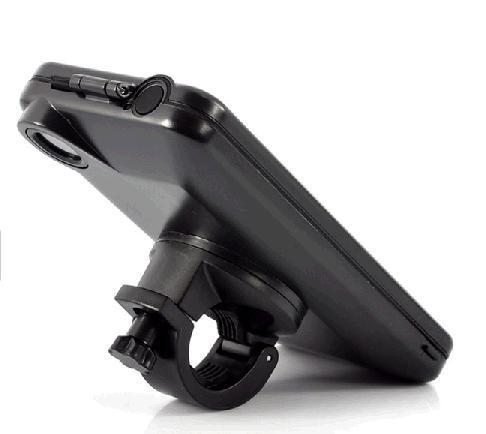 Bicicleta 5 suporte de montagem de bicicleta suporte resistente caso capa à prova d 'água para iphone 5 5s frete grátis