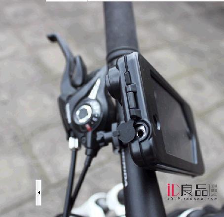 Moto 4 montaje de la bicicleta del sostenedor duro caso de la cubierta impermeable para Appel iphone 4 iphone4