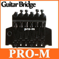 Wholesale Tremolo Bridge Double Locking - Guitar Tremolo Bridge Double Locking Systyem Black Floyd Rose Lic I117 Free Shipping
