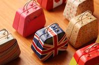 Wholesale Handbag Bag Tin Box - Coin box jewlery box wedding Candy box tin box Handbag bag mini storage bins box