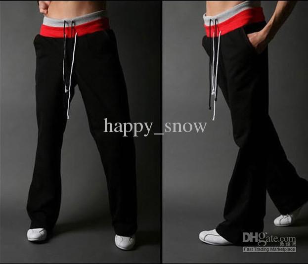 Nieuwe herenkleding mannelijke sportbroek mannen casual broek plus size broek losse mannelijke broek