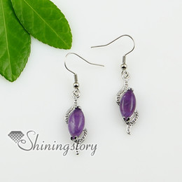 Wholesale Natural Stone Jewelery - olive natural stone earrings birth stone jewelery Fashion jewelry Spse0106TC0 cheap china fashion jewellery