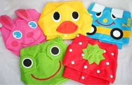 Дети дети дождевик дождевик дождевик водонепроницаемый детские животных дождевик пончо смешные дождевик от