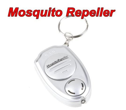 Bug Mosquito Repeller voor Pest / Insect Nieuwe sleutelclip Elektronische ultrasone
