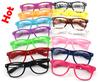 20PCS beach Color sunglasses Clear Lens Glasses women clear sunglasses men Transparent sunglasses