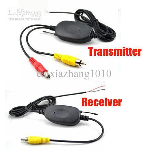 Kit ricevitore wireless 2.4Ghz RCA Trasmettitore Video auto Reavering macchina fotografica di trasporto