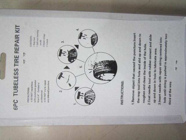10 takım / grup Toptan 6 ADET / TAKıM Araba Oto Lastik Tubeless Lastik Delinme Tak Tamir Takımı