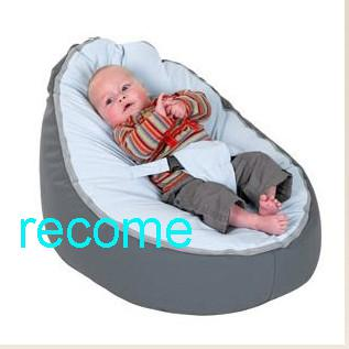 2018 Grey Baby Beanbag ChairDoomoo Kids Sleeping Bean Bag BedsOriginal Newborn Seat From Recome 1529