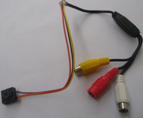 Free shipping DHL/EMS.420tvl small cctv camera,mini pinhole security camera with microphone.