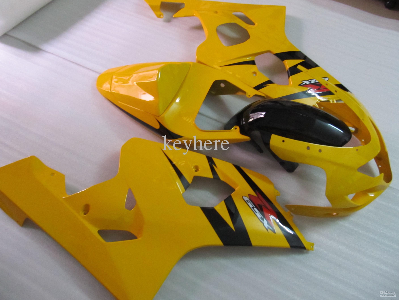 Voor Suzuki 2004 2005 GSX-R600 GSXR 750 600 04 05 GSXR600 K4 GELLY BLACK FACKING 64Z18