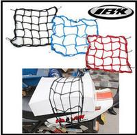 Wholesale Packaging Netting - Retail Luggage Cargo Boot Net Bike Motorcycle Helmet Storage Holder Package Carrier Bag