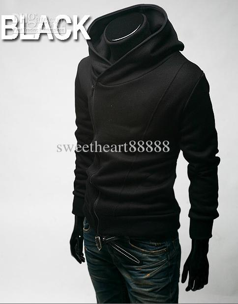 5 Größe heiße Mode Grau Blau Herren Slim Fit Sexy Top Entwickelt Hoodies Sweatshirts Herrenbekleidung