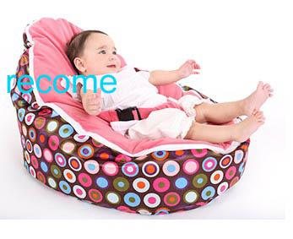 2019 Pink Polka Baby Beanbag Chair Infant Sleeping Bean