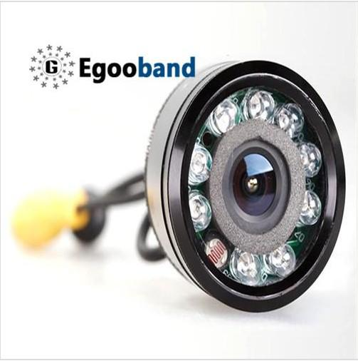 9 IR LED Night Vision Camera Revertendo para carro retrovisor backup Waterproof 135 graus frete grátis