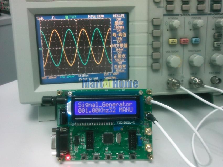 Générateur de signaux DDS à ondes sinusoïdales double canal AD9850 50Mhz + logiciel PC Control # BV152 @CF