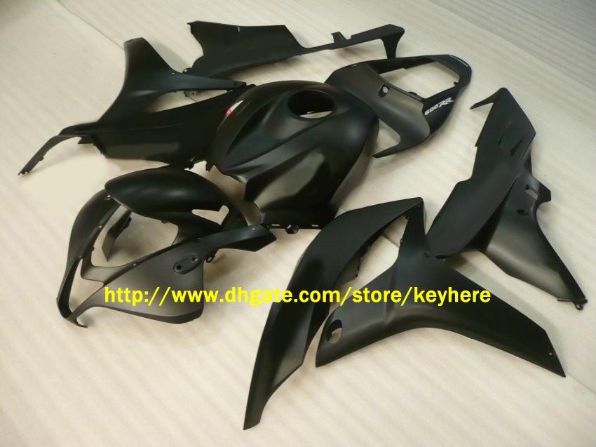 NL09 preto fosco ABS de injeção de carenagem para CBR600RR 2007 2008, CBR 600RR 600 RR F5 07 08 Carenagens
