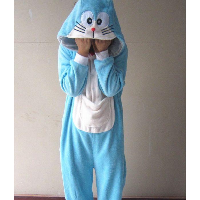 codice promozionale 19e5b 6bd2f Acquista Doraemon Cartoni Animati Animale Adulto Sleepwears Cosplay Coral  Fleece KIGURUMI Pigiama Costume Di Halloween A $24.07 Dal Kate And Kevin |  ...