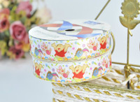 """Wholesale Pooh Ribbon - Winnie the Pooh 1"""",5 8"""",1-1 2"""" unit3 100yards children Hair Bow DIY grosgrain stitched ribbons"""