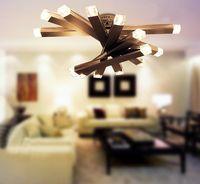Modern Minimalist K9 Crystal Round Ceiling Lamp Chandelier L...