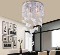 Modern Elegant Fashion K9 Crystal Ceiling Lamp Chandelier Li...