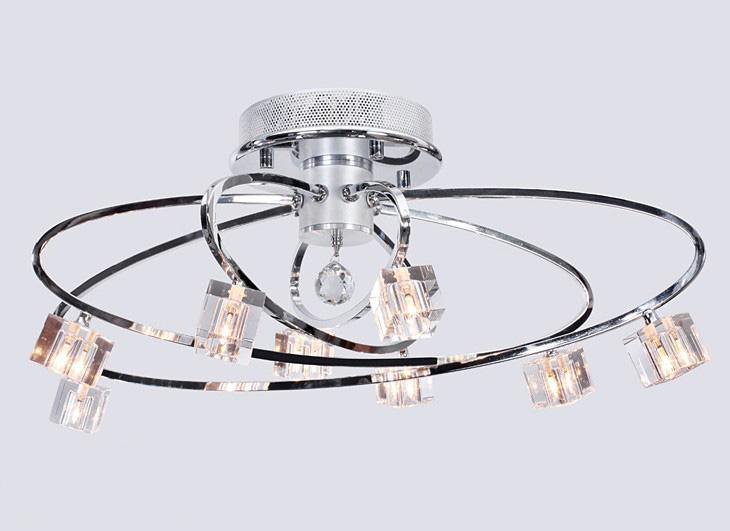 Lampada moderna della stanza di studio del salone del candeliere della lampada da soffitto di cristallo di K9 di modo moderno