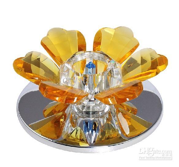 Moderne Mode K9 Kristall Deckenleuchte Kronleuchter Gang Korridor Porch Lights Dia 11 cm
