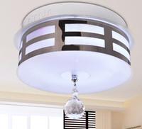 Modern Minimalist K9 Crystal Ceiling Lamp Chandelier Bedroom...