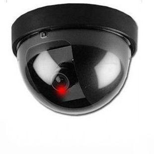 Free Shipping New LED Light Dummy Fake Joke Home CCTV Security Camera Motion Detector Sensor